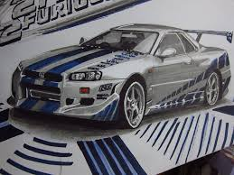 skyline nissan 2015 nissan skyline r34 gtr paul walker final by v3110z on deviantart