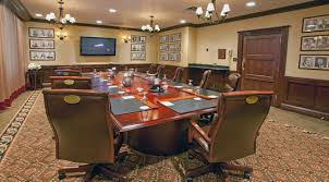 Leather Placemats For Conference Table Event Rooms Denver Athletic Club 2015