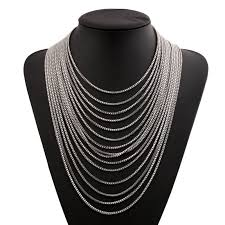 necklace choker wholesale images 2018 fashion european style high quality gold silver statement jpg