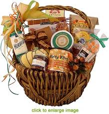 food gift basket fall food festival gift basket
