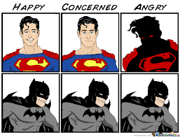Batman Superman Meme - superman vs batman by vitor1993 meme center
