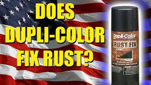 will dupli color fix rust youtube
