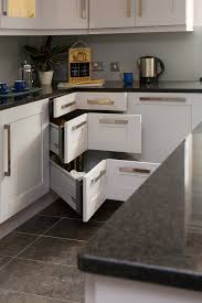 corner curio cabinets in kitchen transitional with ikea pull out