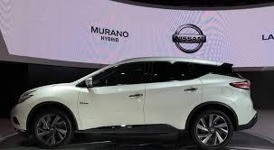nissan hybrid 2015 nissan murano hybrid 2015 представлен в шанхае