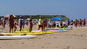 lifeguards compete for best of the beach honors in wellfleet