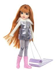 Amazon Moxie Girlz Moxie Girlz Magic Glitter Snow Doll Kellan