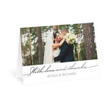 thank you postcards wedding thank you cards s bridal bargains