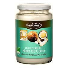 huile de noix de coco cuisine huile de noix de coco bio 150 ml cosmétique genna magasin bio