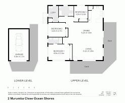 Ocean Shores Floor Plan 2 Murumba Close Ocean Shores Nsw 2483 Sold Realestateview
