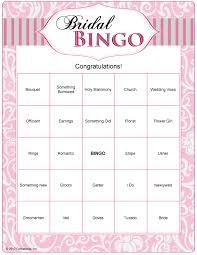 wedding words for bingo bridal bingo you should do this at my shower bridesmaid