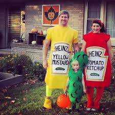 Ketchup Halloween Costume Family Halloween Costumes Ketchup Mustard Pickle