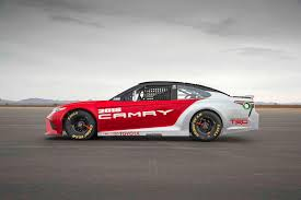 toyota car toyota u0027s nascar quest previewing the 2018 camry based v 8 race