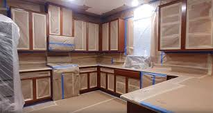 how to prep cabinets for painting can i use my kitchen while my cabinets are being painted