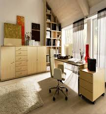 design tips for home office office simple loft home office with modern mdf furniture set and
