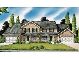 Multi Family House Plans Duplex 40 Best Duplex House Plans Images On Pinterest Duplex House