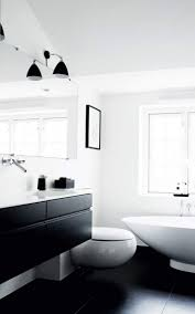 modern black and white bathroom designs black and white bathroom 8