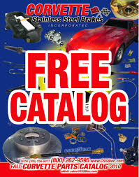 free corvette parts catalog