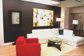 living room creative red black white living room home design