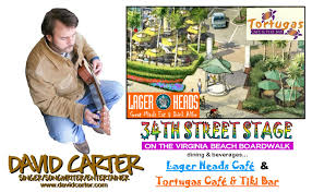 Map Virginia Beach by David Carter David Carter Singer Songwriter Entertainer Calendar