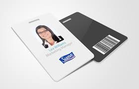 id card graphic design card