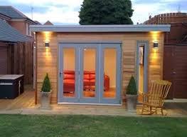 backyard shed office self garden plans ideas planning permission