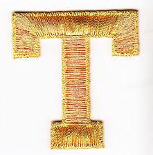 gold metallic iron on letters ebay