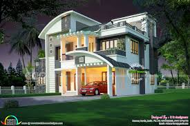 u20b966 lakhs cost estimated 3111 sq ft home kerala home design