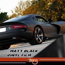 matte black car 100x60cm matte black car auto suv body roof bumper fender sticker