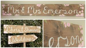 personalized wooden wedding signs wedding signs gallery