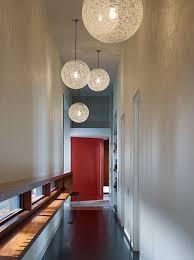 Hallway Pendant Lighting Painted Interior Door Ideas Also Stylish Hallway Pendant