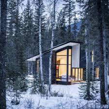 10 modern wintry cabins we u0027d be happy to hole up in of photos
