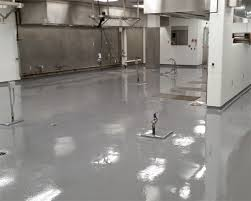 Commercial Kitchen Flooring Commercial Kitchen Correction Facility Epoxy Flooring