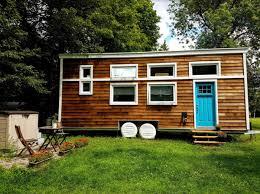 tiny homes on wheels natasha u0027s 28ft tiny house on wheels