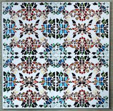 kaleidoscope butterfly print mecox gardens