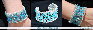 wire jewelry bracelet images Diy wire wrapped cuff bracelet jpg