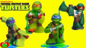 Tmnt Bathroom Set Teenage Mutant Ninja Turtles Water Fight And Slime Each Other