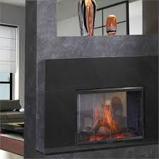 Freestanding Electric Fireplace Simplifyre See Through Electric Fireplace From Heat U0026 Glo