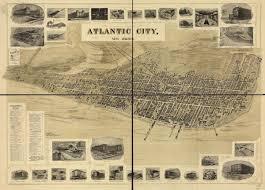 Map Of Jersey City Atlantic City New Jersey
