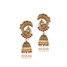 gold earrings jhumka design wedding gold jhumka designs gold bridal jhumka designs jhumka