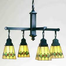 mission tiffany ceiling light martini mission four light chandelier all things tiffany