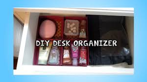 Desk Organizer Drawers Diy Desk Drawer Organizer
