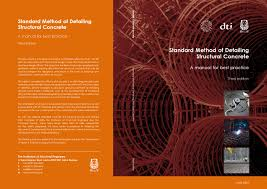 standard method of detailing structural concrete by edins joseph