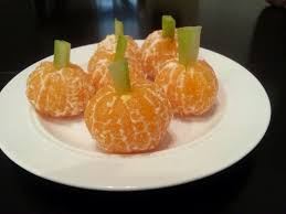 healthy halloween treats ghosts pumpkins and broomsticks