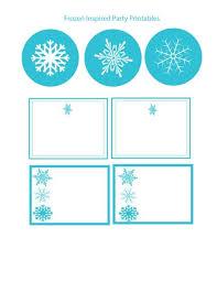 diy frozen birthday party ideas bonus print templates