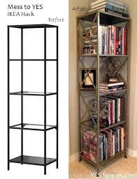 bookcase ladder shelf bookcase ikea marvellous leaning bookshelf