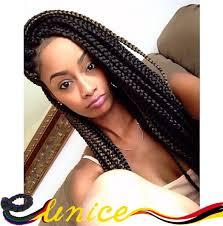 box braids hairstyle human hair or synthtic 2pcs 24 3x box braids ombre crochet twist hair crochet ombre