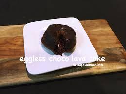 choco lava cake recipe eggless molten lava cake recipe