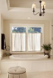 Bathroom Curtain Ideas For Windows Bathroom Window Treatment Ideas Curtains Intended For Inspirations