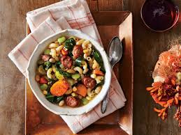 www southernliving slow cooker sausage minestrone recipe southern living mastercook
