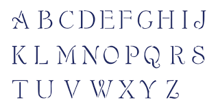 stencils alphabet simple script lettering stencilease com